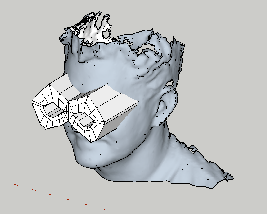 Low-poly binocular mask!