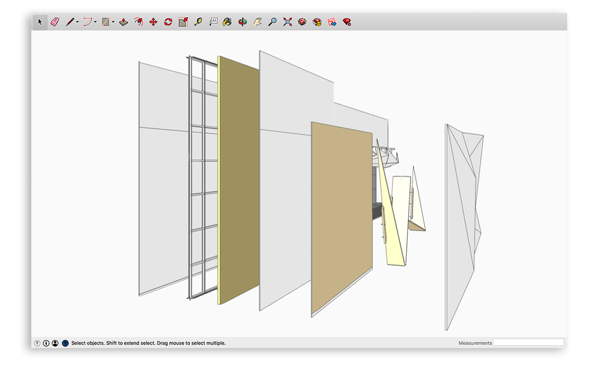 Hidden depths; virtual construction becomes tangible in SketchUp