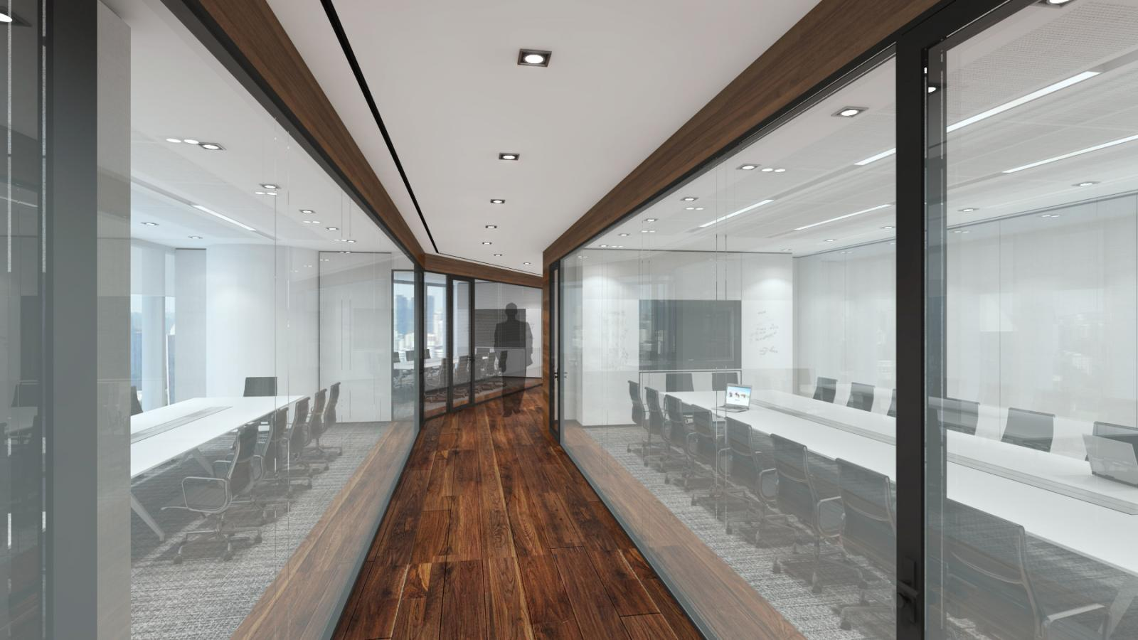 Render; a visually stunning workplace translates to a productive workplace.